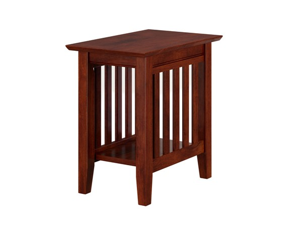Atlantic Furniture Mission Walnut Chair Side Table AH13204