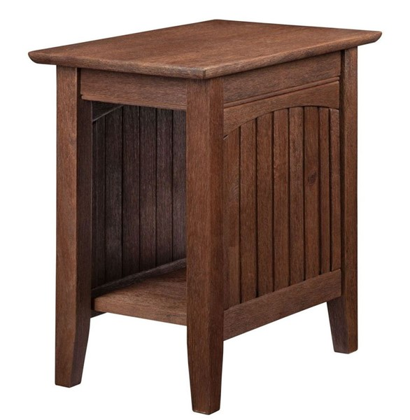 Atlantic Furniture Nantucket Burnt Amber Chair Side Table AH13303