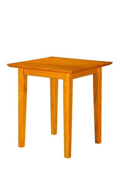 Shaker Classic Caramel Latte Solid Wood End Table AH14107