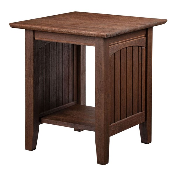 Atlantic Furniture Nantucket Burnt Amber End Table AH14303