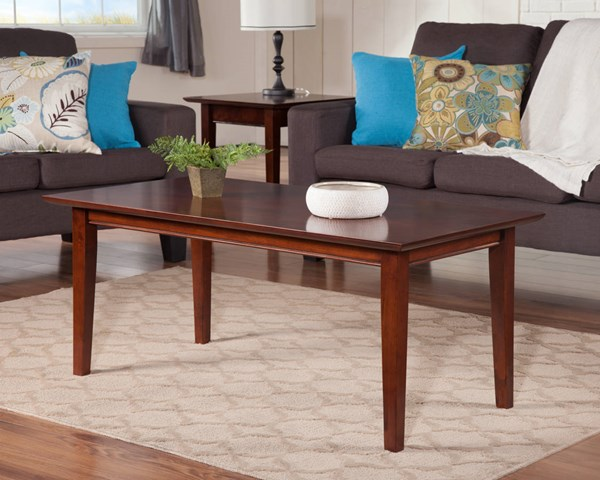 Shaker Classic Solid Wood 3pc Coffee Table Sets AH15104-AH15107