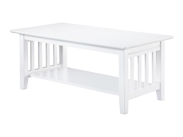 Atlantic Furniture Mission White Coffee Table AH15202