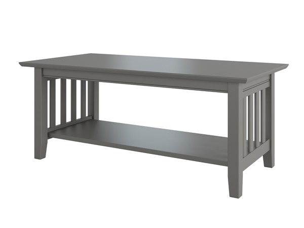 Atlantic Furniture Mission Grey Coffee Table AH15209