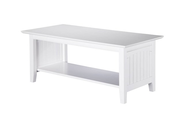 Atlantic Furniture Nantucket White Coffee Table AH15302