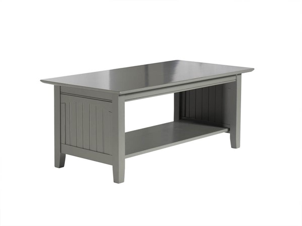 Atlantic Furniture Nantucket Grey Coffee Table AH15309
