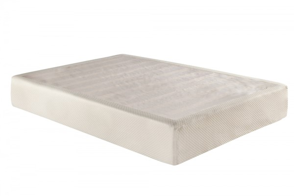 Atlantic Furniture Siesta King 7 Inch Memory Foam Mattress with Foundation AM55115