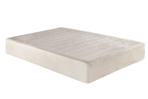 CoolSoft 11 Inches King Woven Memory Foam Gel Mattress w/Foundation AM55325