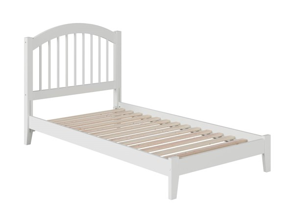 Atlantic Furniture Windsor White Twin Open Foot Bed AP9421002