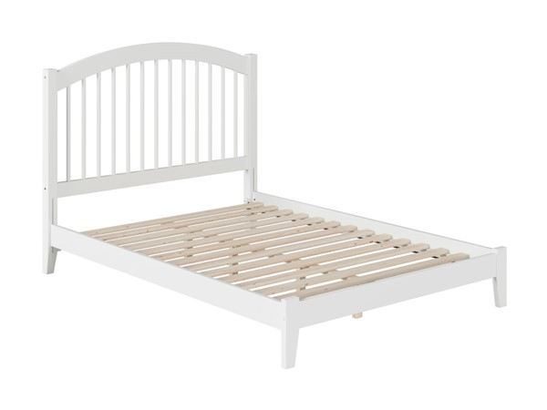 Atlantic Furniture Windsor White Full Open Foot Bed AP9431002