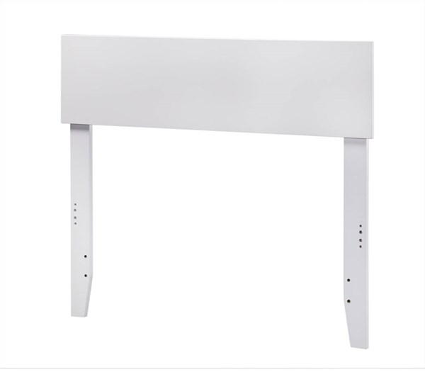 Orlando White Wood Twin Headboard AR281822