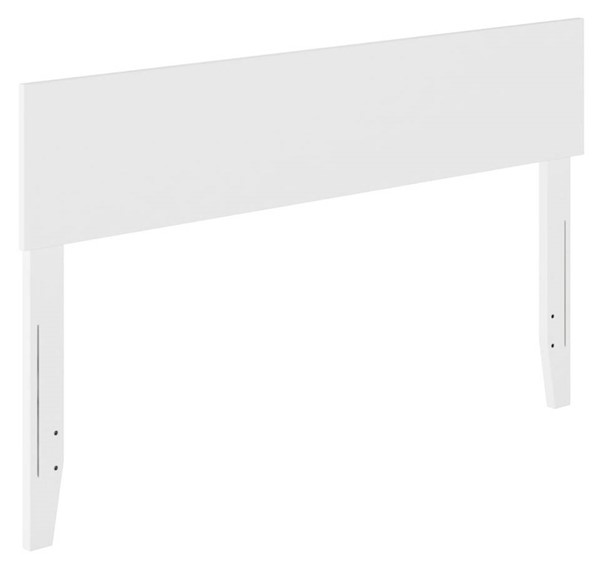 Atlantic Furniture Orlando White Full Panel Headboard AR281832
