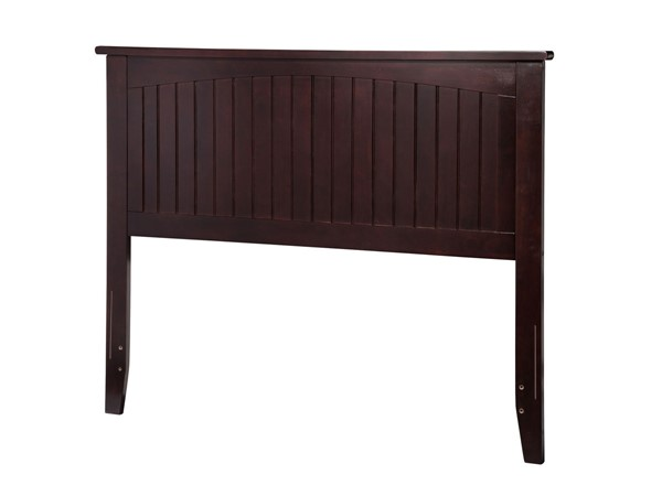 Atlantic Furniture Nantucket Espresso Wood Full Headboard AR282831