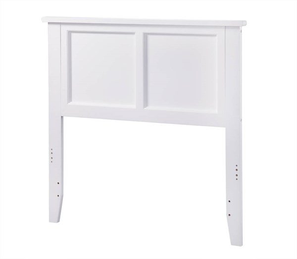 Madison White Wood Twin Headboard AR286822