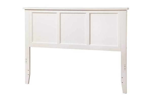 Madison White Wood Queen Headboard AR286842