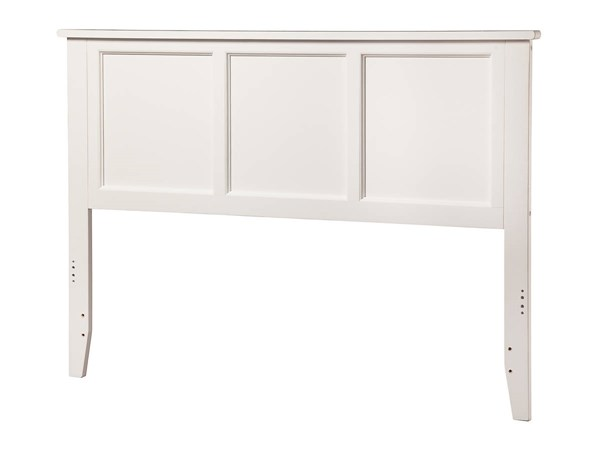 Madison Traditional White Wood King Headboard AR286852