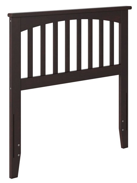 Atlantic Furniture Mission Espresso Twin Headboard AR287821