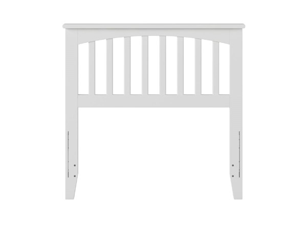 Atlantic Furniture Mission White Twin Headboard AR287822