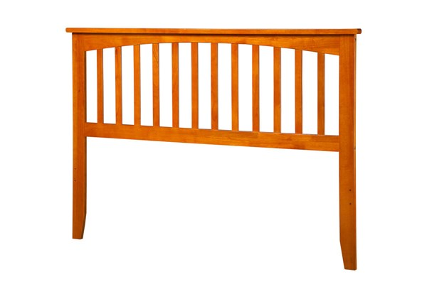 Mission Caramel Latte Wood King Headboard AR287857