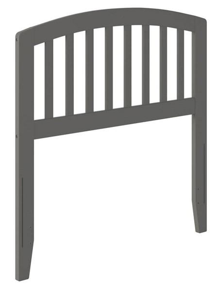 Atlantic Furniture Richmond Grey Twin Headboard AR288829