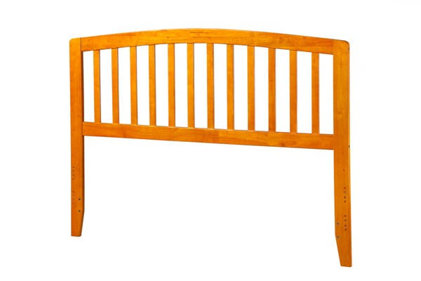 Richmond Caramel Latte Wood King Headboard AR288857