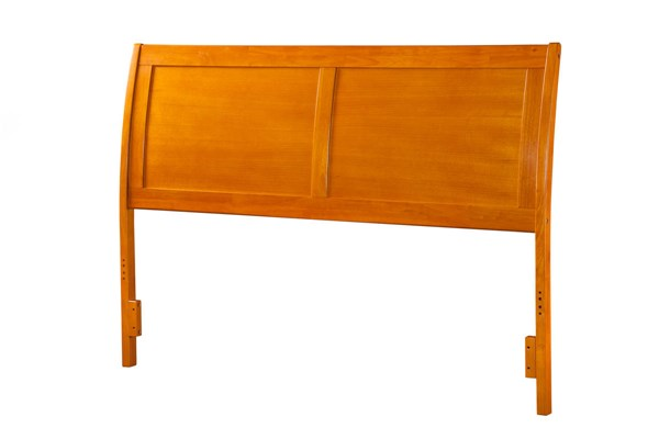 Portland Caramel Latte Wood King Headboard AR289857