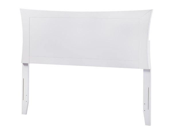 Atlantic Furniture Metro White Full Headboard AR290832