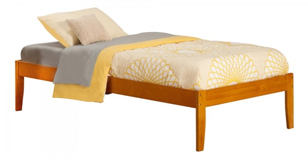 Atlantic Furniture Concord Caramel Latte Twin XL Bed AR8011037