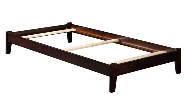 Atlantic Furniture Concord Espresso Twin XL Platform Bed AR8011031