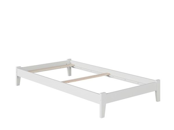 Atlantic Furniture Concord White Twin XL Platform Bed AR8011032