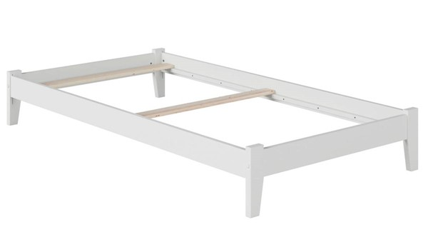 Atlantic Furniture Concord White Twin Platform Bed AR8021032