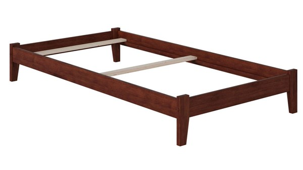 Atlantic Furniture Concord Walnut Twin Platform Bed AR8021034
