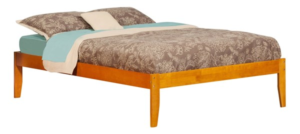 Atlantic Furniture Concord Caramel Latte Full Bed AR8031037
