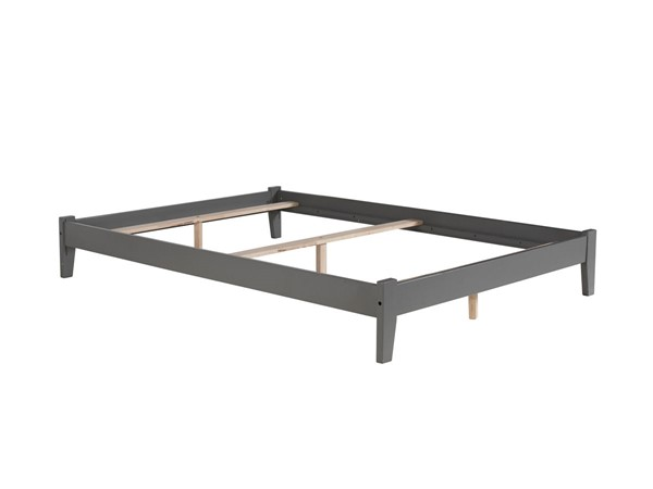 Atlantic Furniture Concord Grey Queen Platform Bed AR8041039