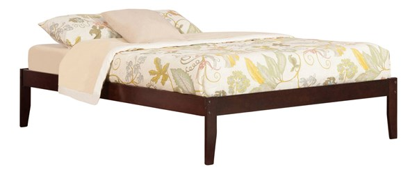 Concord Walnut Wood King Platform Open Foot Bed AR8051004