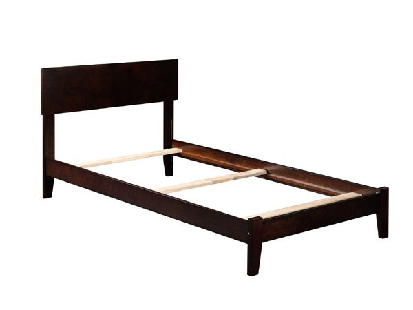 Atlantic Furniture Orlando Espresso Traditional Twin Platform Bed AR8121031