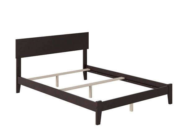 Atlantic Furniture Orlando Espresso Traditional Full Platform Bed AR8131031
