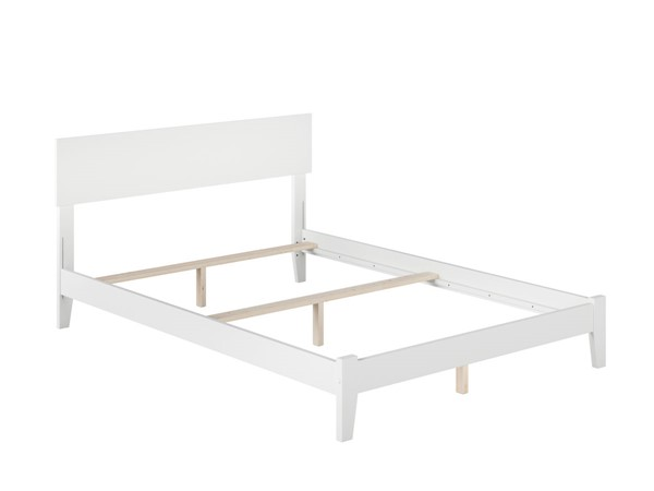 Atlantic Furniture Orlando White Traditional Full Platform Bed AR8131032