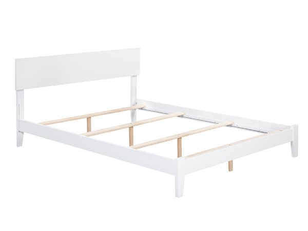 Atlantic Furniture Orlando White Queen Bed AR8141032