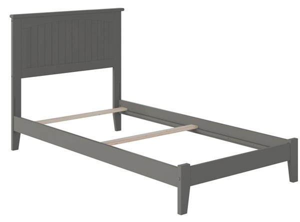 Atlantic Furniture Nantucket Grey Traditional Twin XL Platform Bed AR8211039