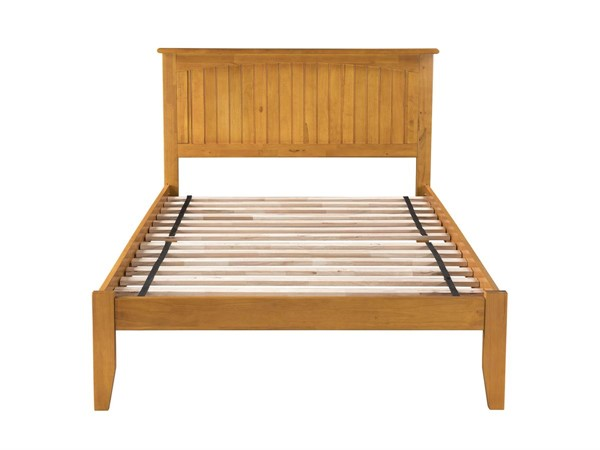 Atlantic Furniture Nantucket Caramel Latte Full Open Foot Bed AR8231007