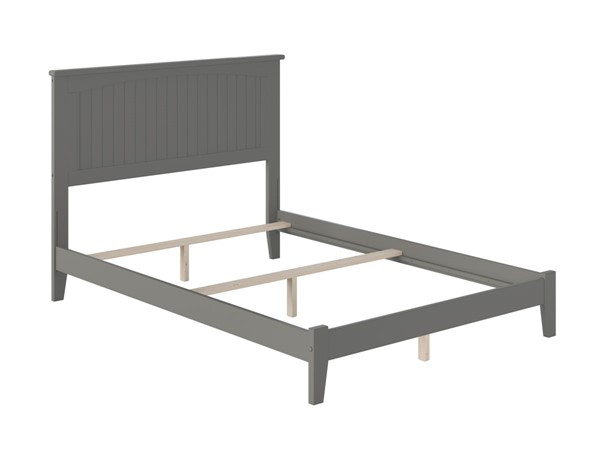 Atlantic Furniture Nantucket Grey Traditional Full Platform Bed AR8231039