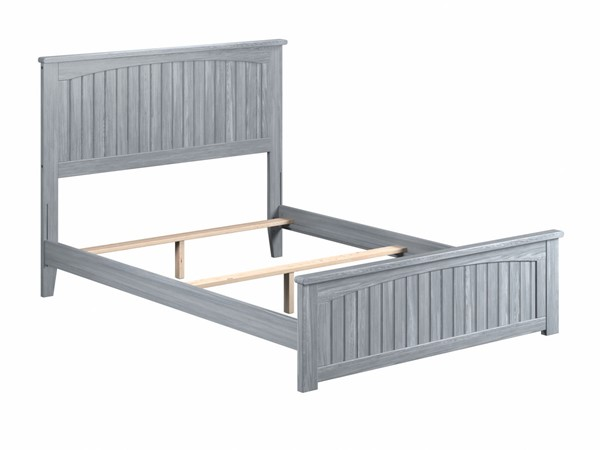 Atlantic Furniture Nantucket Driftwood Matching Footboard Full Panel Bed AR8236038