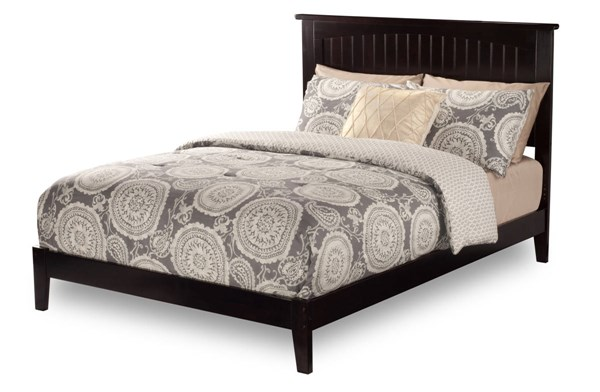 Nantucket Classic Solid Wood King Platform Open Foot Beds AR8251001-07-BEDS