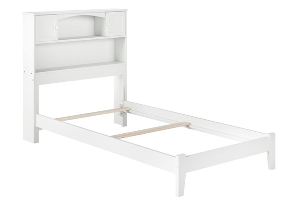 Atlantic Furniture Newport White Twin XL Bed AR8511032