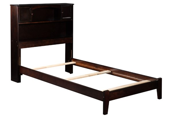 Atlantic Furniture Newport Espresso Twin Bed AR8521031