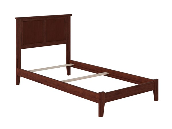 Atlantic Furniture Madison Walnut Traditional Twin XL Bed AR8611034