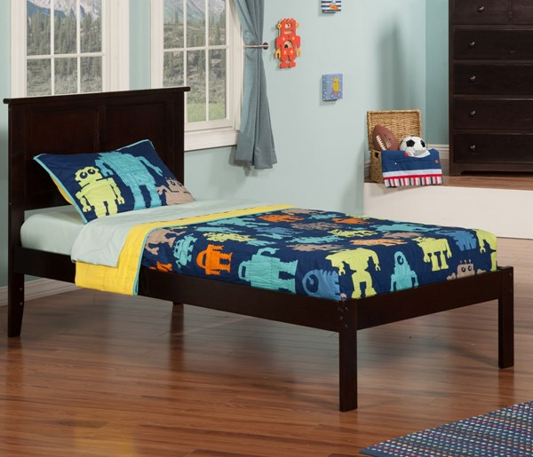 Atlantic Furniture Madison Platform Beds with Open Foot Rail AR86-KBEDS-VAR