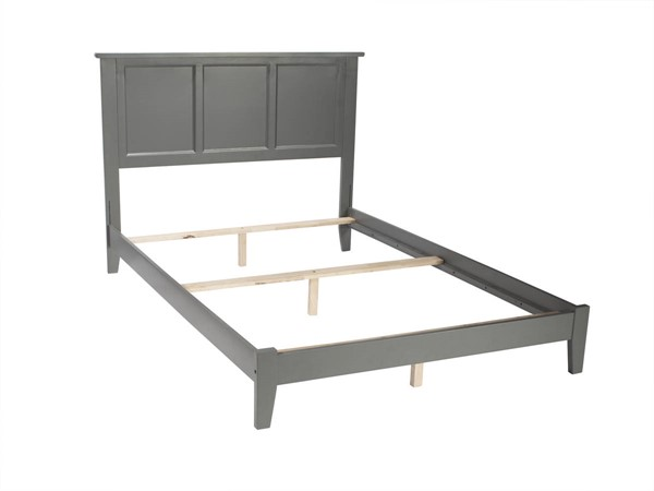 Atlantic Furniture Madison Grey Traditional Full Bed AR8631039
