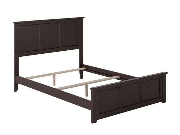Atlantic Furniture Madison Espresso Queen Bed with Matching Foot Board AR8646031