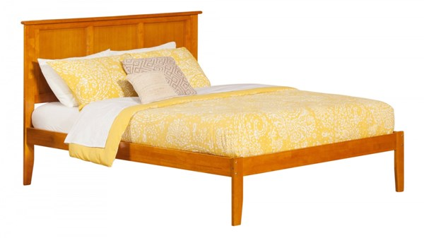 Atlantic Furniture Madison Caramel Latte Queen Bed AR8641037
